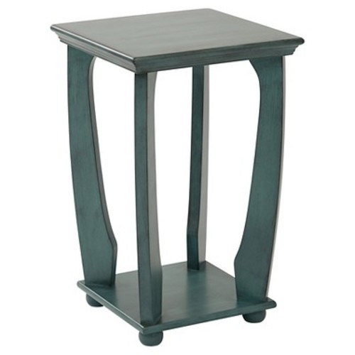 OSP Designs, Mila Square Accent Table, Ships Fully Assembled by Office Star Products