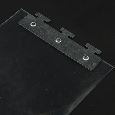 "1Pcs Freezer Room PVC Plastic Strip Curtain Door Strip Kit Hanging Rail 79""X7""X0.07"" - image 3 of 7"