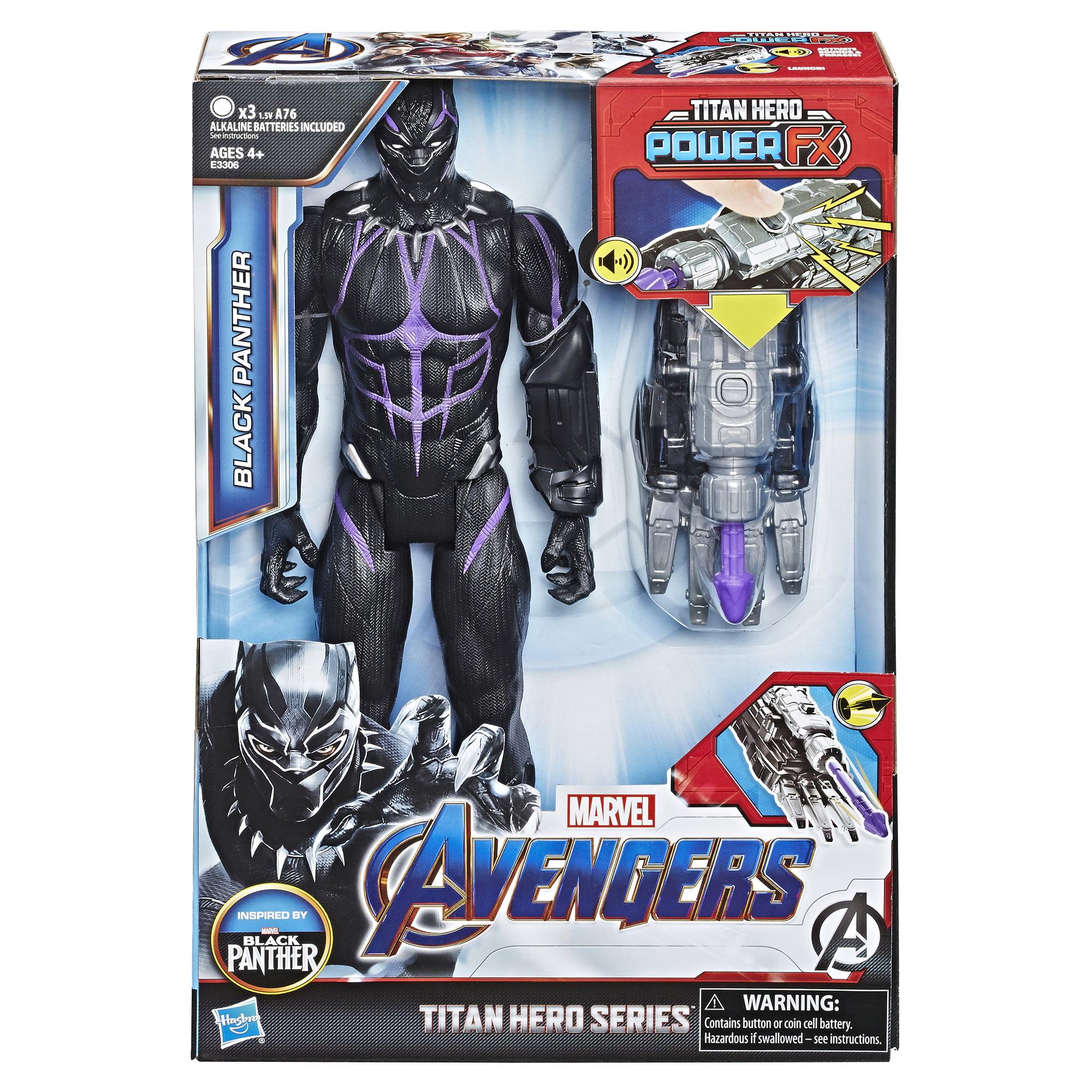 "Avengers Marvel Titan Hero Series Black Panther 12/"" Action Figure New"