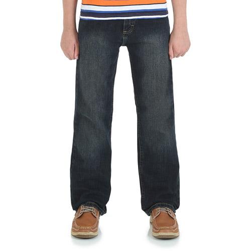 Wrangler Boys' Classic Straight Leg Jeans