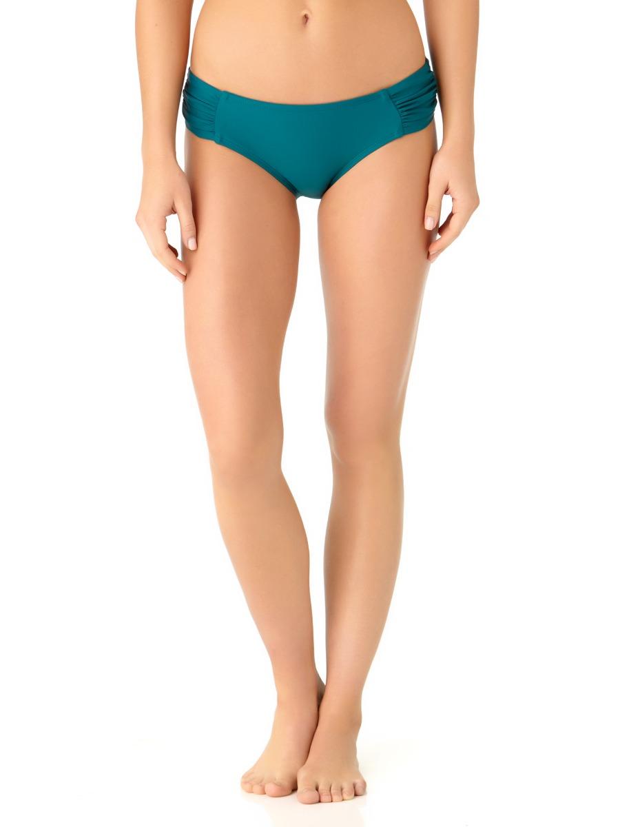 Catalina Women's Teal Tab Side Swim Bottom