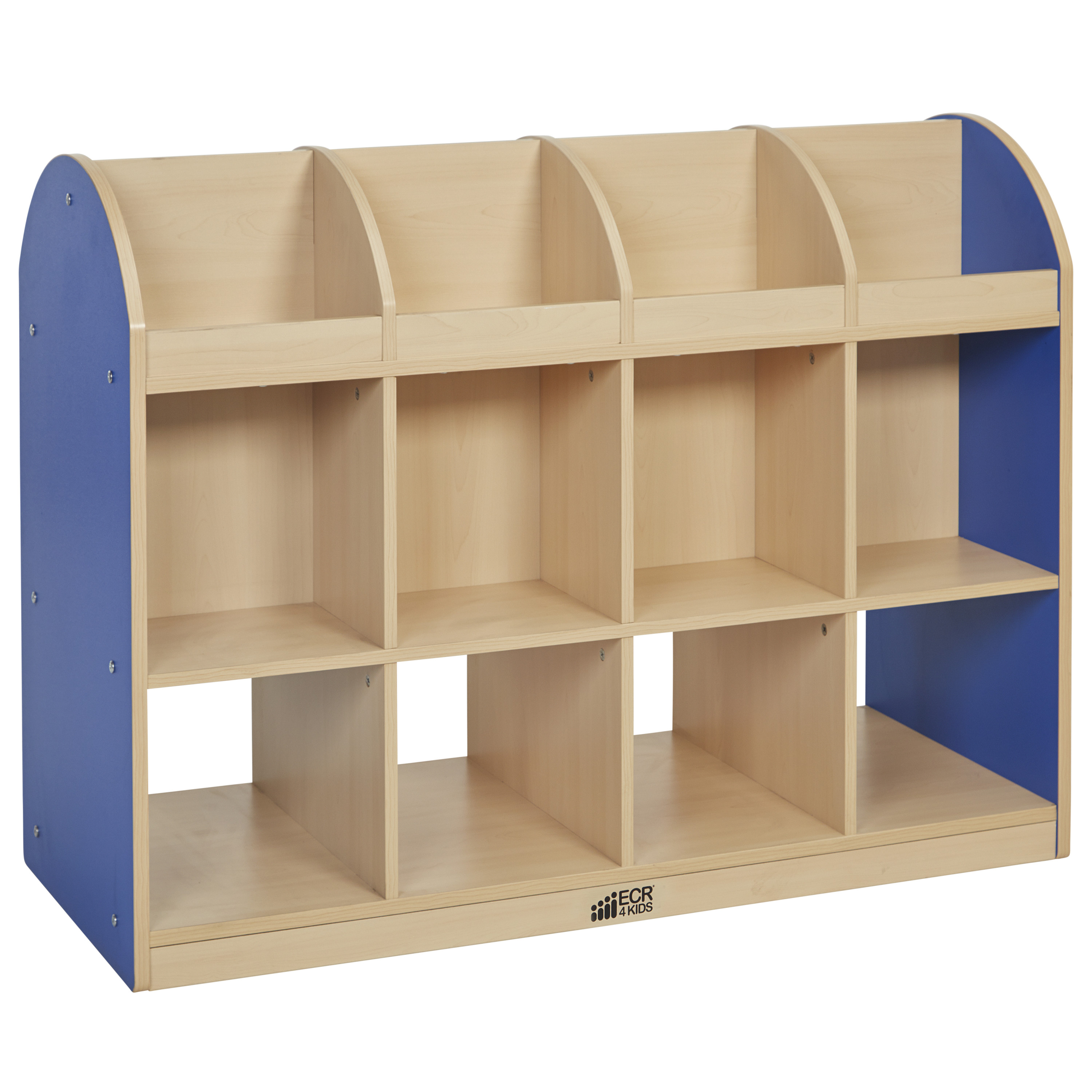 Colorful Essentials 2-Sided Standard Book Stand - Maple/Blue