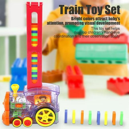 EECOO Kids Children Electronic Train Educational Toy Set Interesting