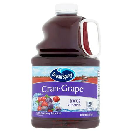 Ocean Spray Juice, Cran-Grape, 101.4 Fl Oz, 1 Count