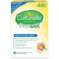 Culturelle Health & Wellness Daily Immune Support Formula Vegetarian Capsules, 30 count