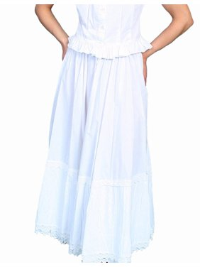 Product Image RW501-BLK-L Rangewear 100 Percent Cotton Womens Petticoat -  Black e8f6f9738