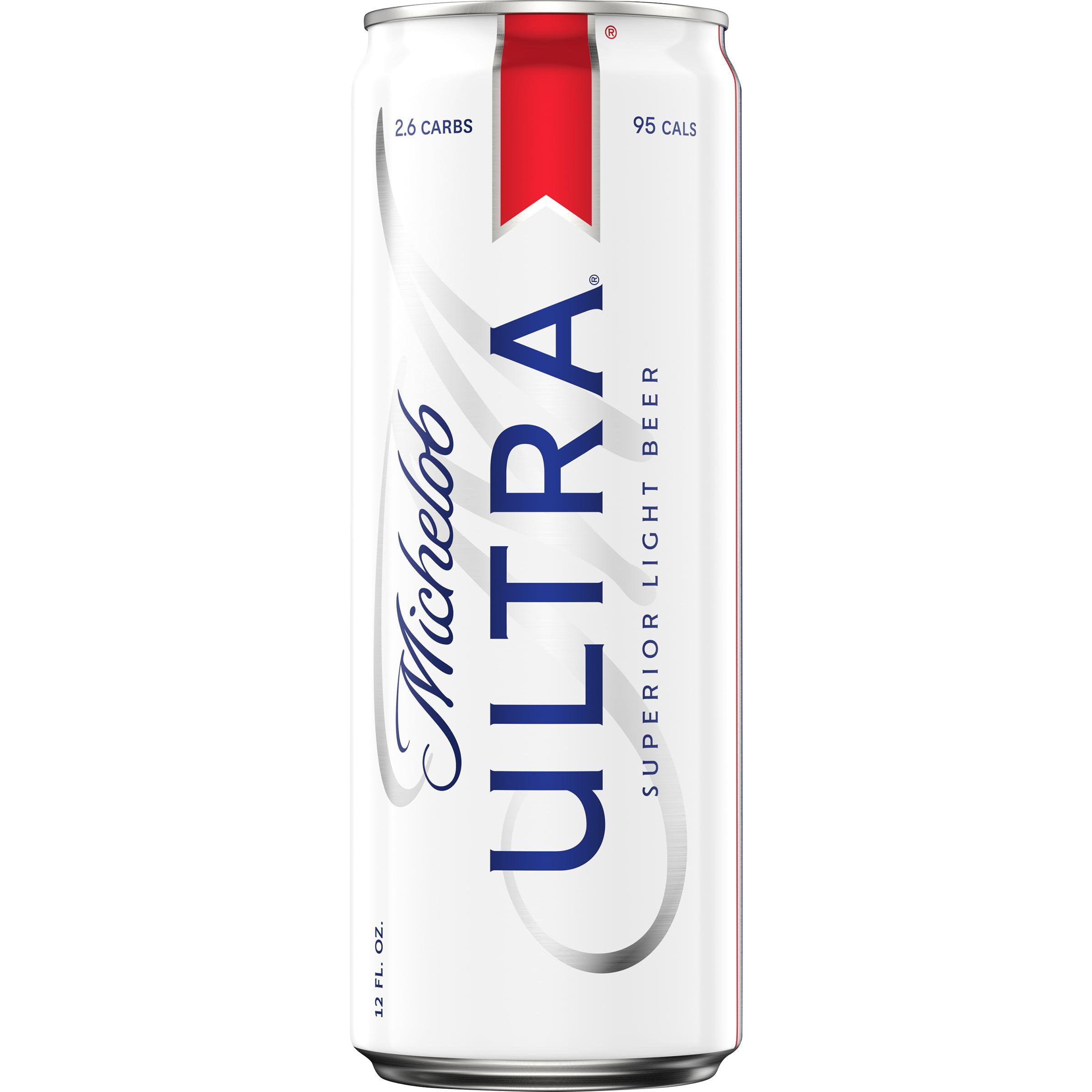 Michelob Ultra Light Beer 12 Fl Oz Can 4 2 Abv Walmart Com Walmart Com