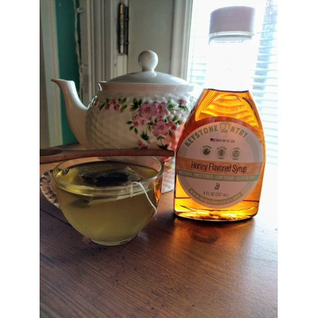 Keystone Pantry Honey Flavored syrup, sweetened with Allulose and Monk Fruit