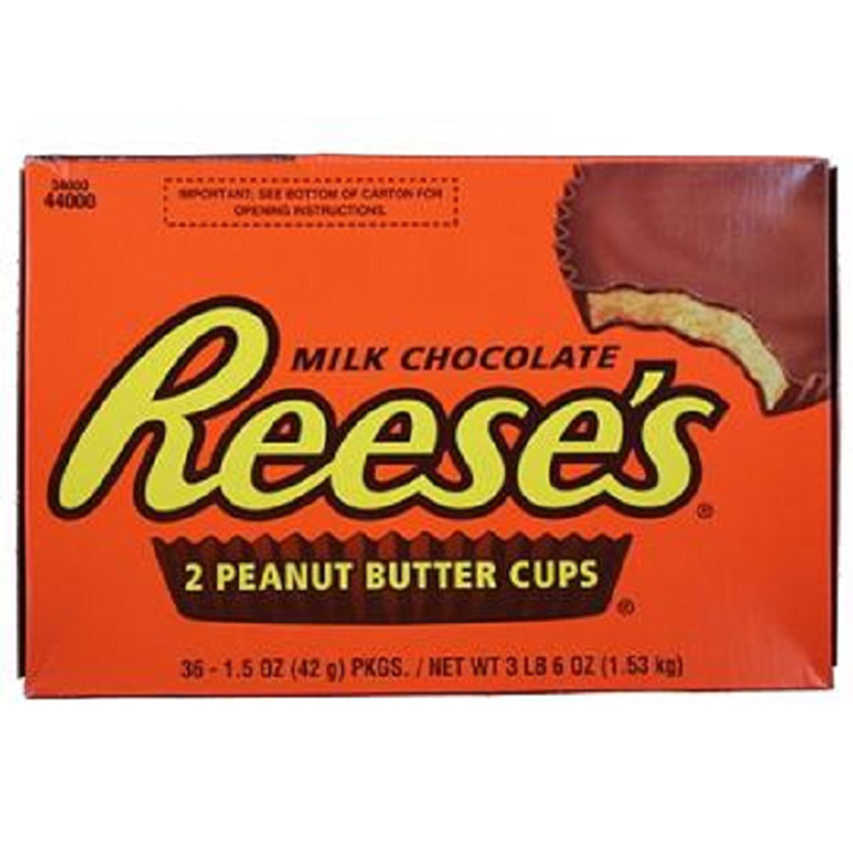 Reese Peanut Butter Cups (1.5-Ounce Packages, Pack of 36)