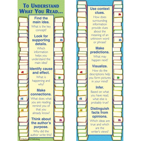 Halloween Reading Bookmarks (Reading Comprehension Smart Bookmarks by McDonald)