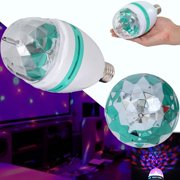 Dazzling Toys Full Color Rotating LED Lamp Disco Party Club Lights Stage Effect