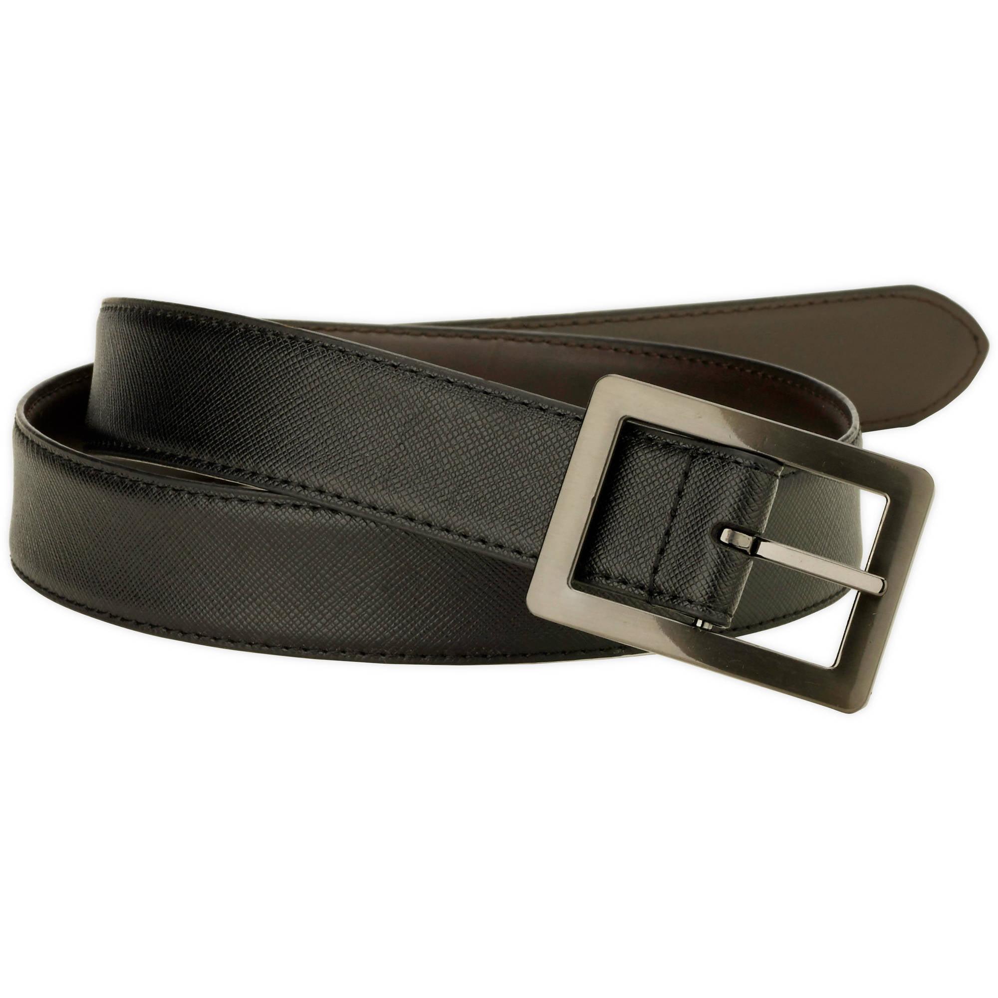 George Men's 32mm Centerbar Reversible Belt