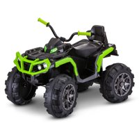 Kid Trax 12-Volt Beast ATV Ride-On (Black / Green)