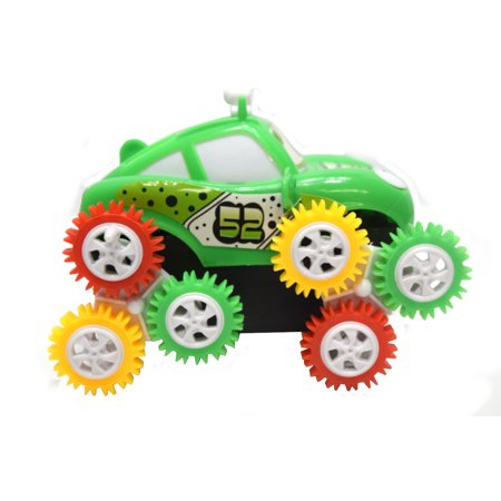 Web Chr - Flip Tumble Bump and Roll Go Toy Car Nonstop Action, Toy-1121