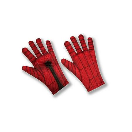 Spider Man 2 Gloves - Spider-Man: Far From Home Spider-Man Red/ Blue Child Gloves - Size One Size