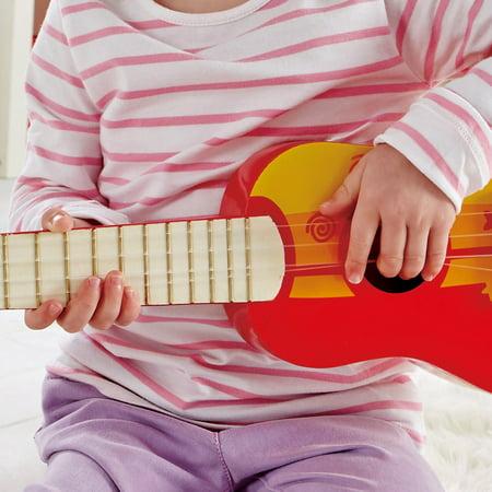 Hape 4 String Wooden Ukulele Toy Children Kids Tuneable Musical Instrument Red