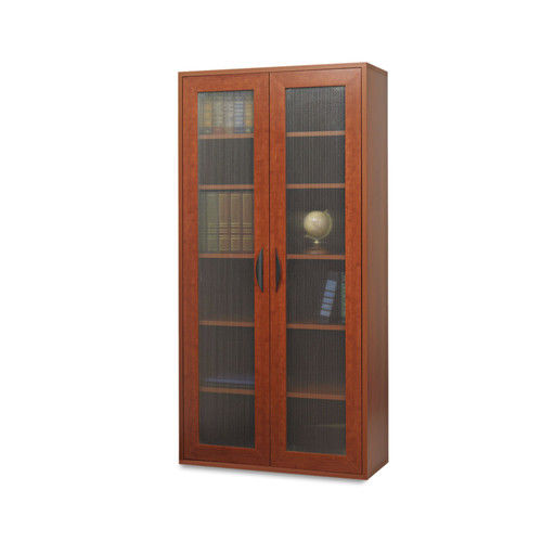 Safco 9443CY Apres Tall Two-Door Cabinet, 29-3/4w X 11-3/4d X 59-1 ...