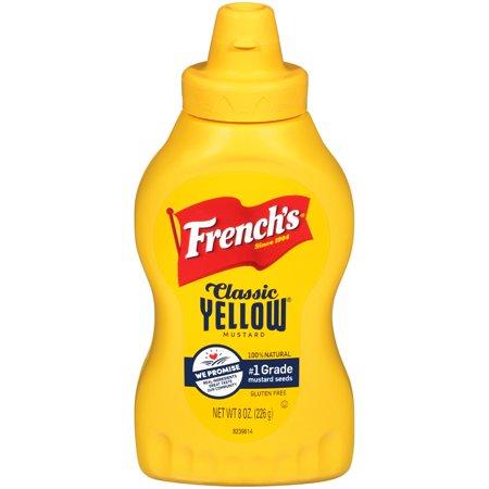 Mild Yellow Mustard - French's Classic Yellow Mustard, 8 oz