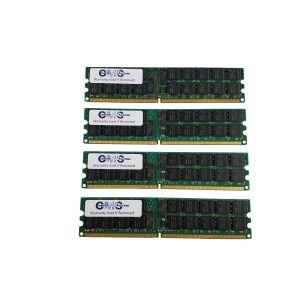 16Gb (4X4Gb) Memory Ram For Dell Poweredge T300 Server Ddr2 For Server Only By CMS (B50) ()