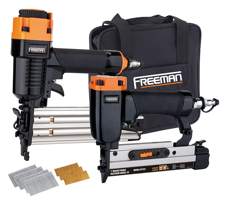 Freeman Flooring Nailer Kit Pneumatic Professional Wooden Mallet Durable 2 Piece