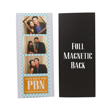 Photo Booth Nook 2x6 Flexible Magnetic Photo Booth Strip Pouch Frame