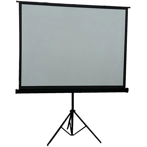 """Inland 84"""" Portable Projection Screen"""