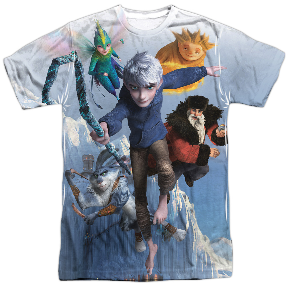 Rise Of The Guardians Together Now Mens Sublimation Shirt