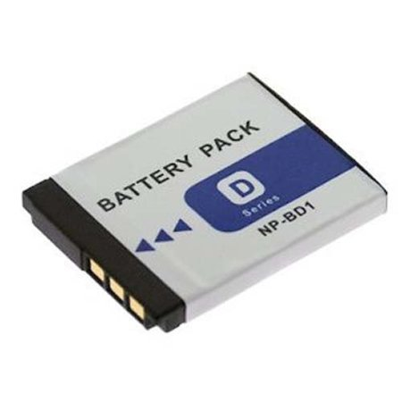 Sony DSC-T77 Digital Camera Battery Lithium-Ion (3.7v, 800mAh) - Replacement for Sony NP-FD1 & - Np Fd1 Replacement