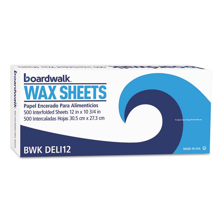 "Interfold-Sheet Deli Paper, 12"" X 10 3/4"", White, 500 Sheets/box, 12 Box/carton"