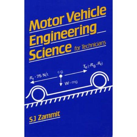 MOTOR VEHICLE ENGINEERING SCIENCE FOR TE