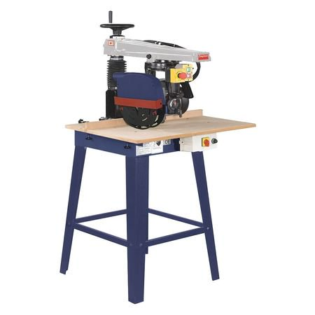 Industrial Radial Arm Saw (DAYTON Radial Arm Saw, 1 HP, 115V, 49G998)