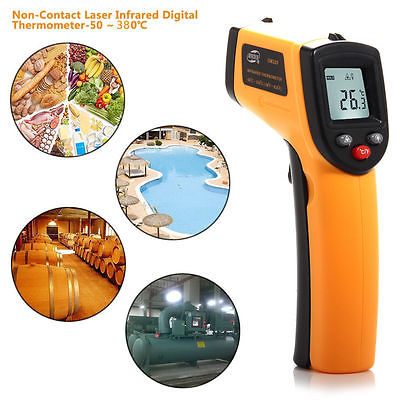 GM320 Non-Contact Laser IR Infrared Thermometer Gun Digital Temperature Meter