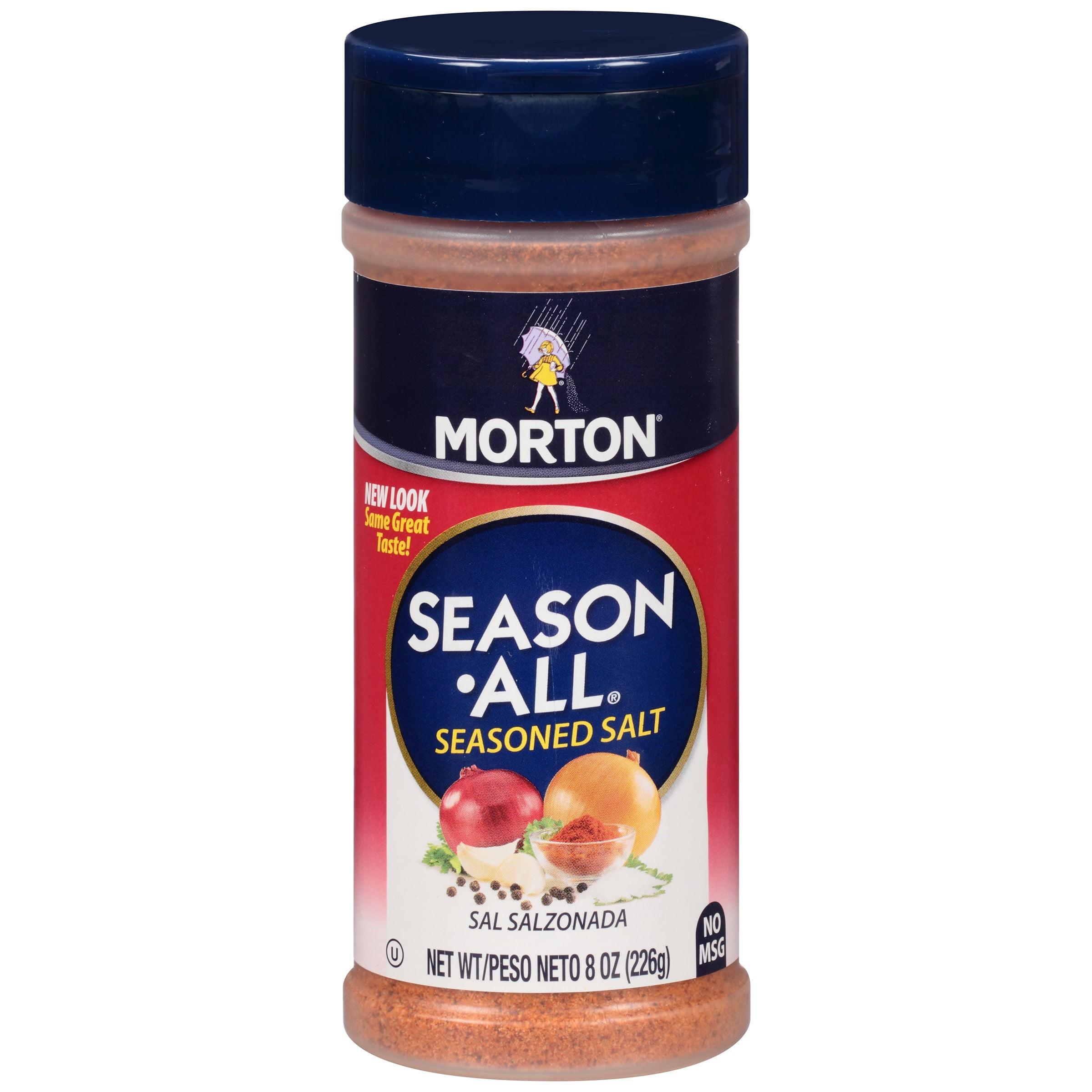 Morton Season All Seasoned Salt, 8 Oz