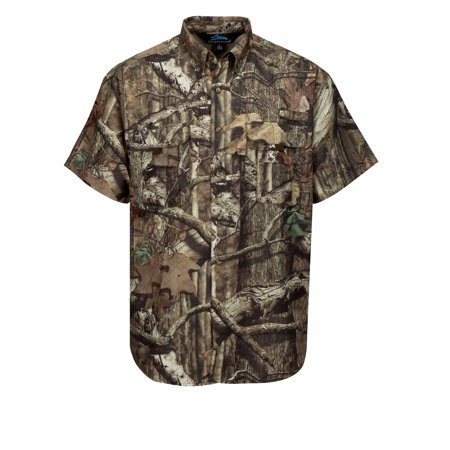 Tri-Mountain Reef Camo W703C Nylon Short Sleeve Shirt, 2X-Large, Mossy Oak Infinity (Chantelle Nylon T-shirt)