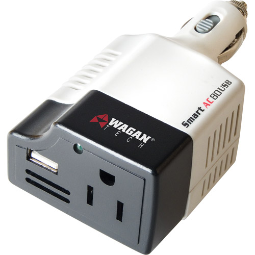 Wagan Smart AC 80 Watt Inverter with USB