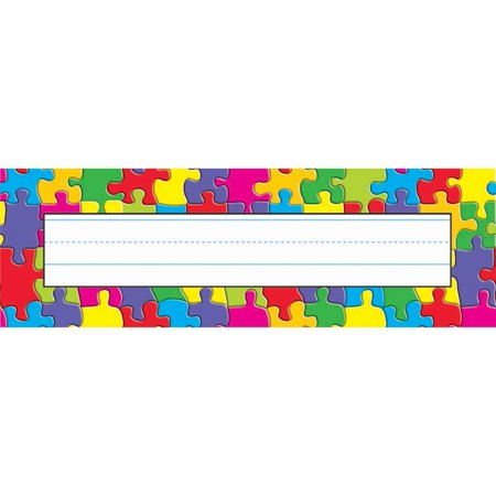 - JIGSAW DESK TOPPERS NAME PLATES