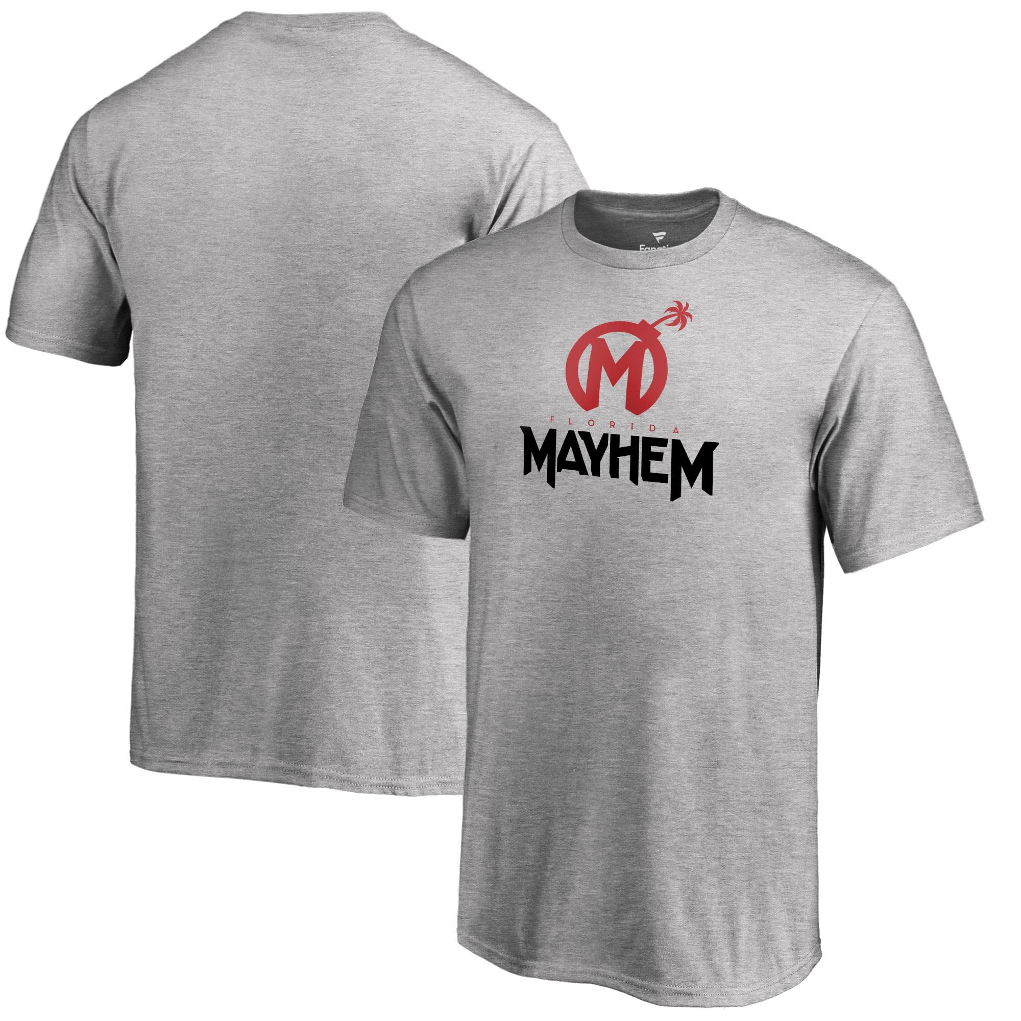 Florida Mayhem Fanatics Branded Youth Team Identity T-Shirt - Heathered Gray
