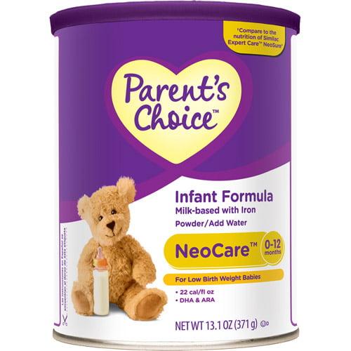 Parent's Choice - Neocare Powder Infant Formula with Iron, 13.1 oz