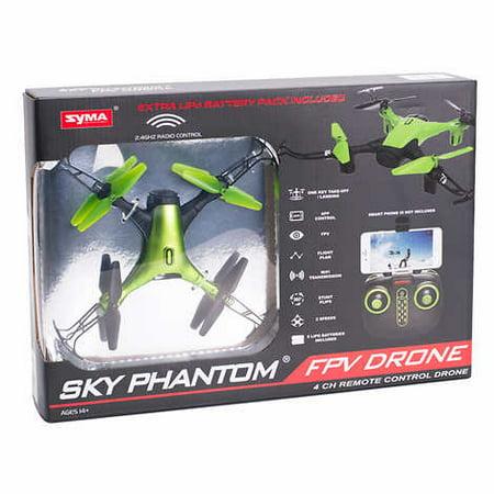 Syma Sky Phantom FPV Drone 4 CH Remote Control Drone,