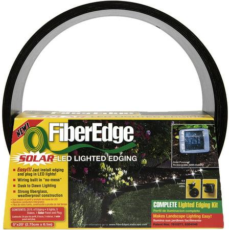 Fiberedge Solar Led Lighted Landscape Edging 5 Quot X 20