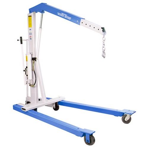 OTC 1819 Mobile Floor Crane,Steel,2200 lb. G4037796
