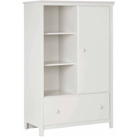 - South Shore Cotton Candy Armoire with Drawer, Multiple Finishes