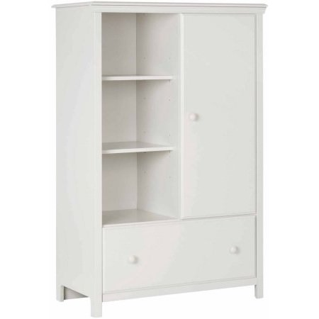 South Shore Cotton Candy Armoire With Drawer, Multiple Finishes