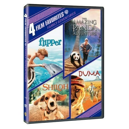 4 Film Favorites: Family Adventures (DVD) - Family Films For Halloween