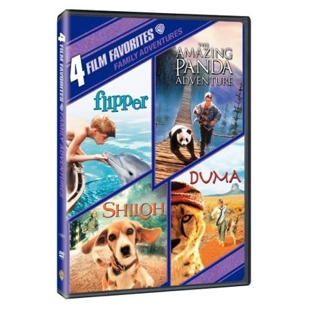 4 Film Favorites: Family Adventures (DVD) - Top Family Halloween Films