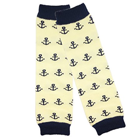 Colorful Baby Leg Warmers - ALLYDREW Colorful Baby Leg Warmers, Navy Anchors