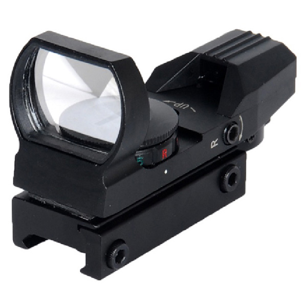 Lancer Tactical Red & Green Dot Reflex Sight with 4 Reticles CA-401