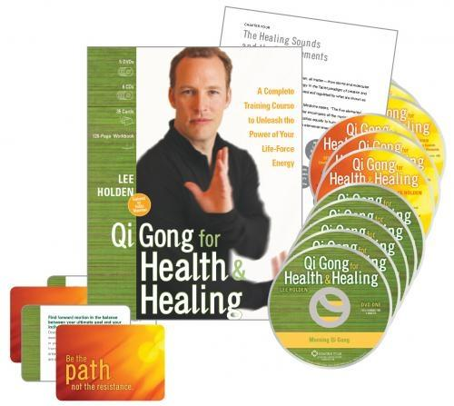 Qi Gong for Health and Healing : A Complete Training Course to Unleash the Power of Your Life-Force Energy by Sounds True