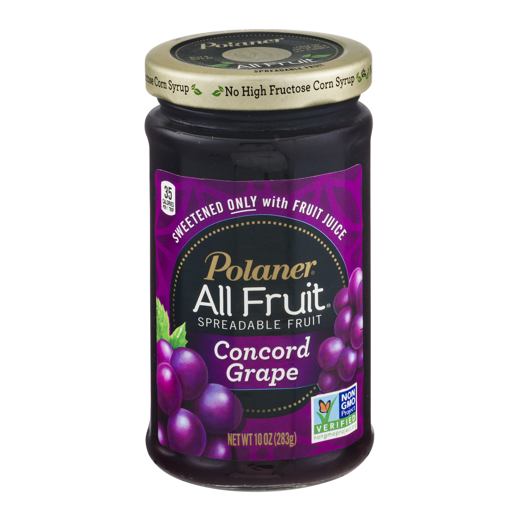 Polaner® All Fruit® Concord Grape Spreadable Fruit 10 oz. Jar