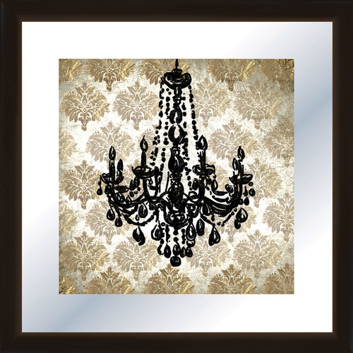 PTM Images Chandelier Framed Graphic Art
